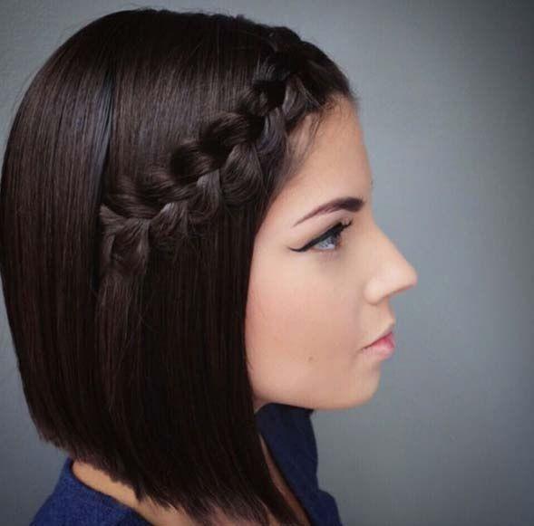 50 Façons Pour Tresser vos Cheveux Courts