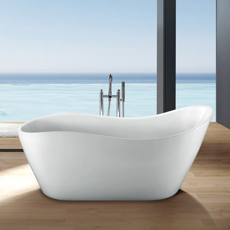 58 best images about master bath on pinterest duravit for Best freestanding tub material