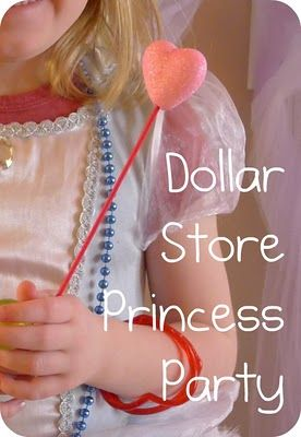 cute cheap princess party ideas