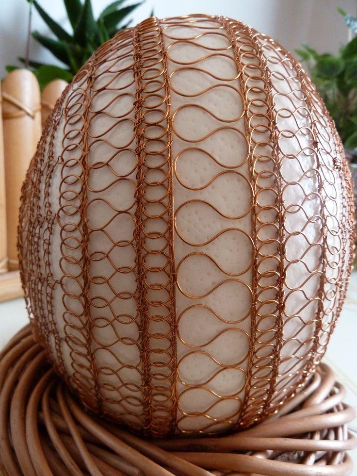 drátovaná pštrosí vejce - Hledat Googlem