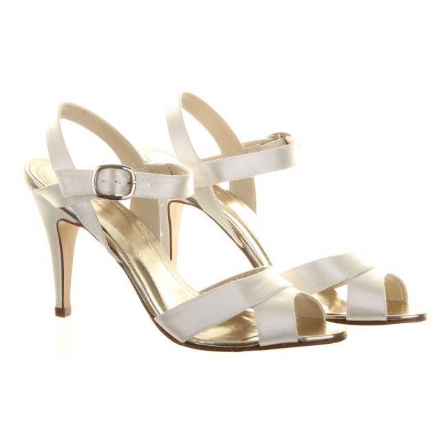 Nigella by Rainbow Club Ivory Dyeable Wedding Shoes
