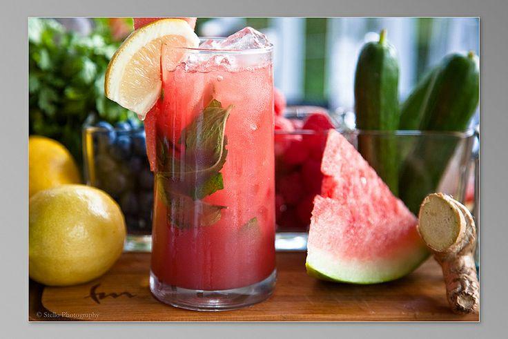 Watermelon Margarita by ICEBOX Bar  www.iceboxbar.com