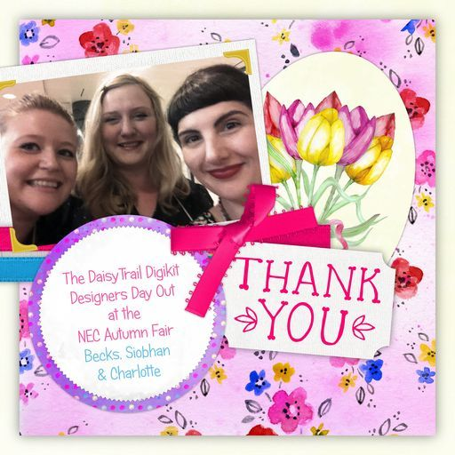 Charlotte, Siobhan and Becks (our digikit design team  at the NEC) - a project by CharlotteAnne
