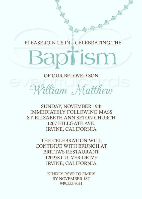 198 best Christening Baptism Invitations images on Pinterest