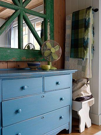 Vickys Home: Casa de verano de Sarah /Sarahs summer house