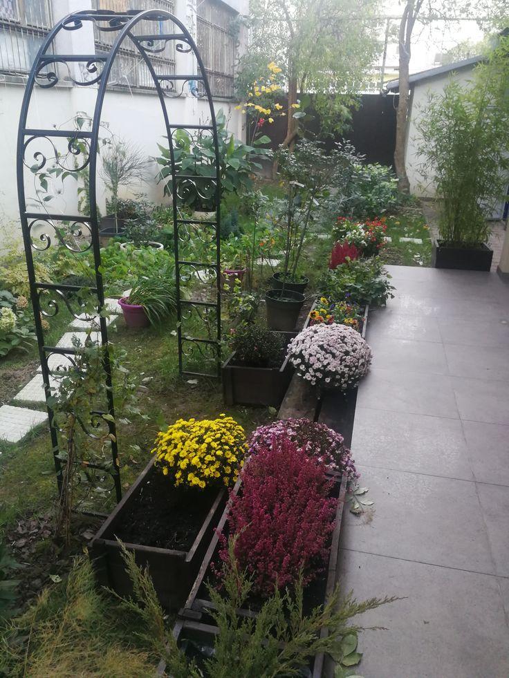 Our beautiful garden in Fall #CasaBlanca #Croatia #Zagreb #interior #exterior #rooms #BedandBreakfast #CasaBlancaBoutiqueBnB #Boutique #BnB #Zagreb #Vlaska92