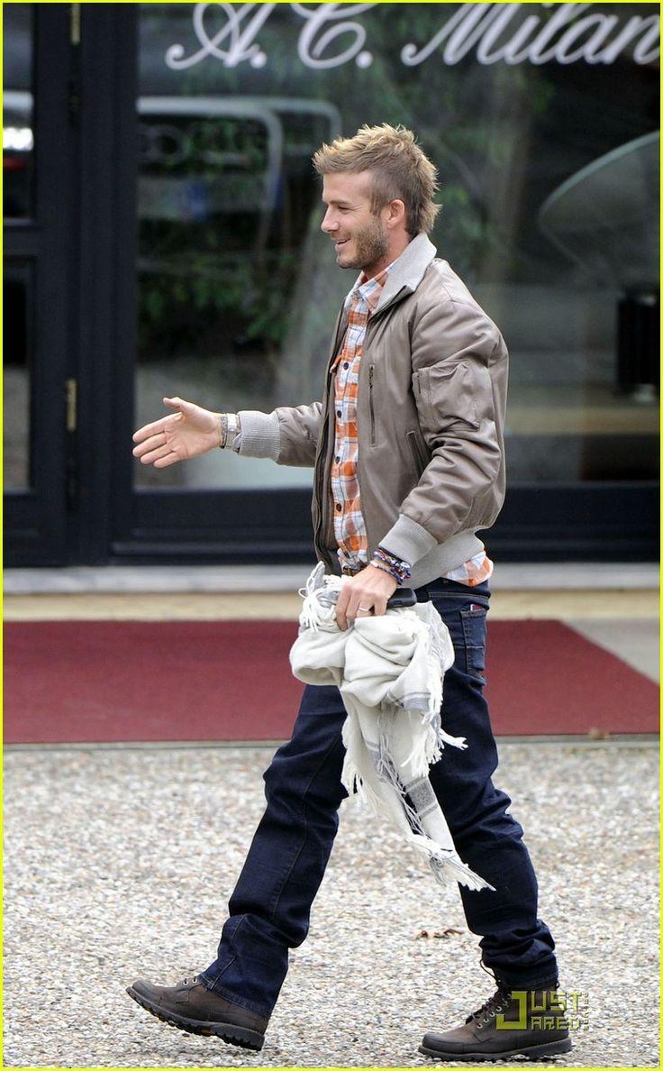 David Beckham is a Milan Mohawk Man | David Beckham Photos | Just Jared