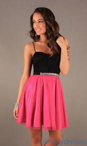 I loved this as soon as I saw it its short with straps and the other half is pink not black.
