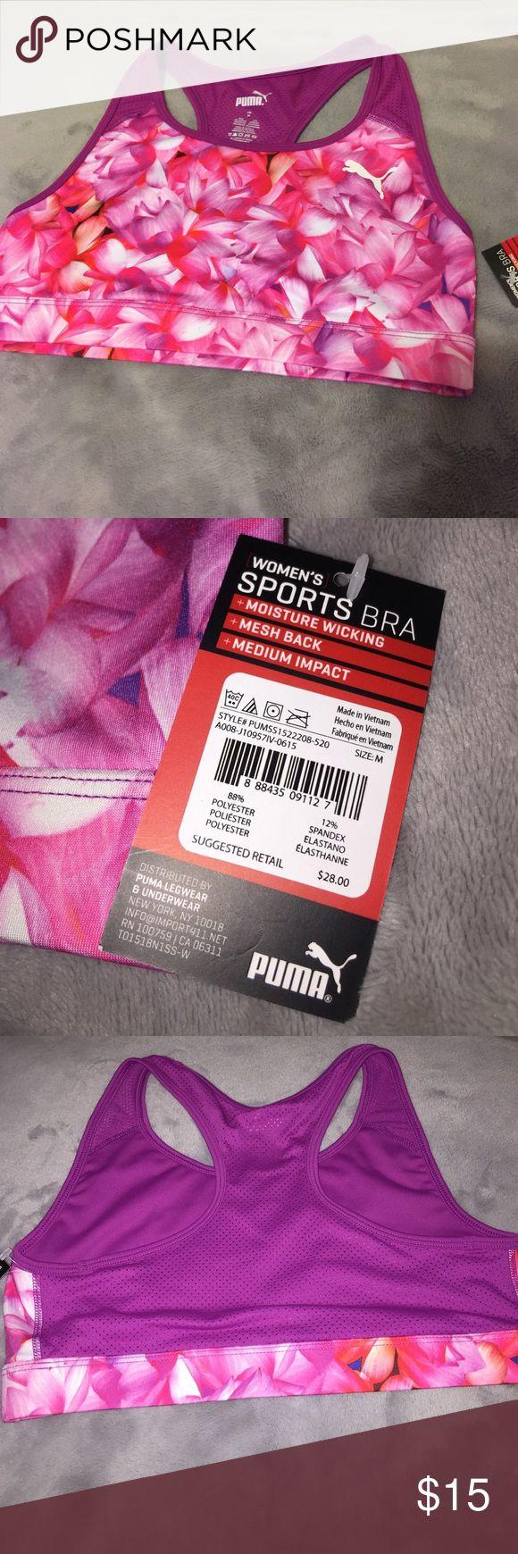 PUMA Sport Bra Women's Sports bra, brand new. Puma Other