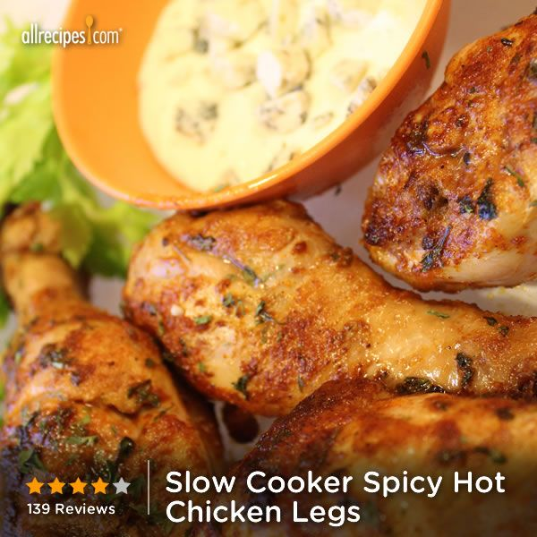 """Spicy Hot Chicken Legs 