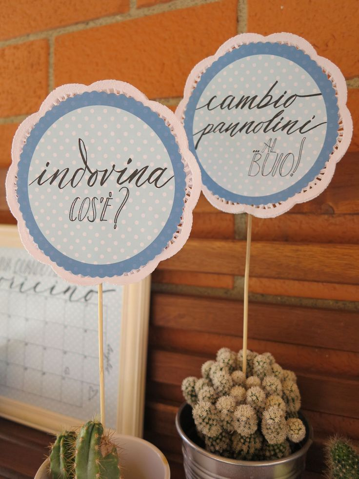 Baby Shower idea for labels with @marikasalerno