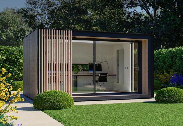 Our Sky Pod is a Spacious Open Plan Garden Studio – Pod Space