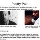 """Powerpoint includes audio of the song """"Dear Momma"""" by Tupac and the poem """"Mother to Son"""" by Langston Hughes and guides students through close analy..."""