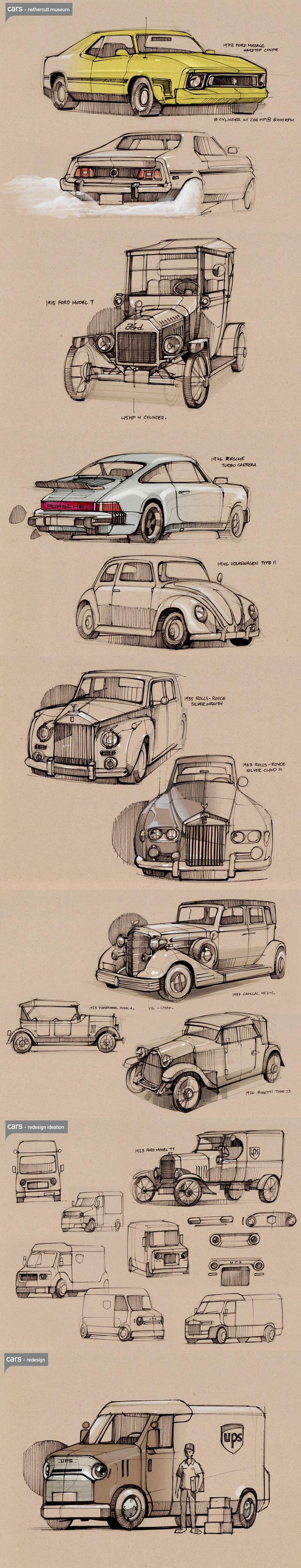 good idea for a quick car draw