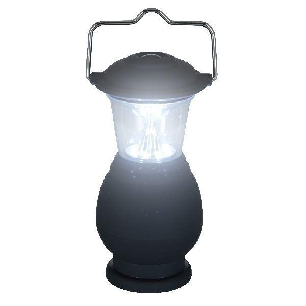 Redcliffs Led Lamp Mini Lantaarn 14cm Zwart 12 Stuks  LED lamp mini lantaarn Handig voor op de camping 8 LEDs Hoogte 14 cm à 6 cm Materiaal rubber en metaal Kan opgehangen worden Werkt op 3 AAA batterijen (niet inclusief) In zwarte kleurstelling Aantal12 stuks in display  EUR 40.95  Meer informatie
