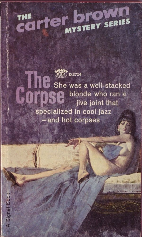 "The Corpse - Cover art by Robert McGinnis - Board ""Art - Robert McGinnis"" -"