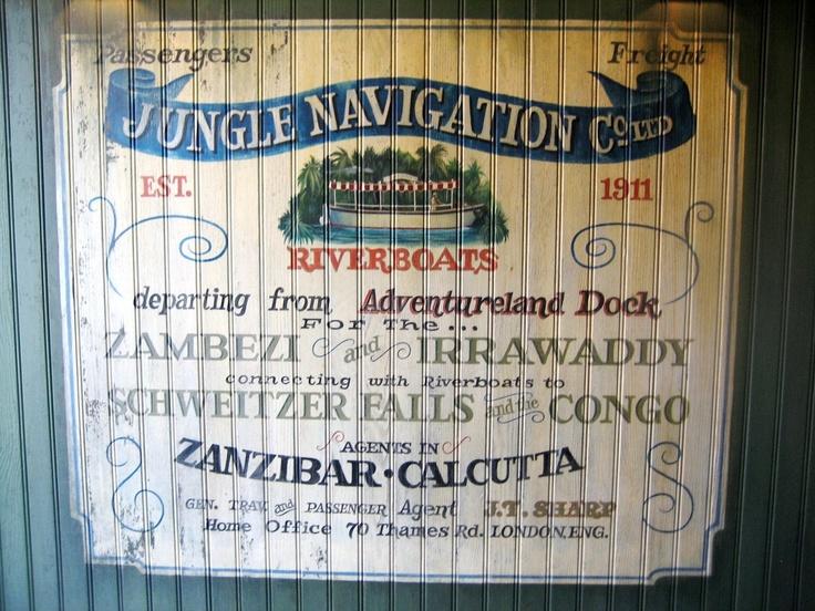 The Jungle Cruise, Adventureland, Disneyland, The Disneyland Resort, Anaheim, CA