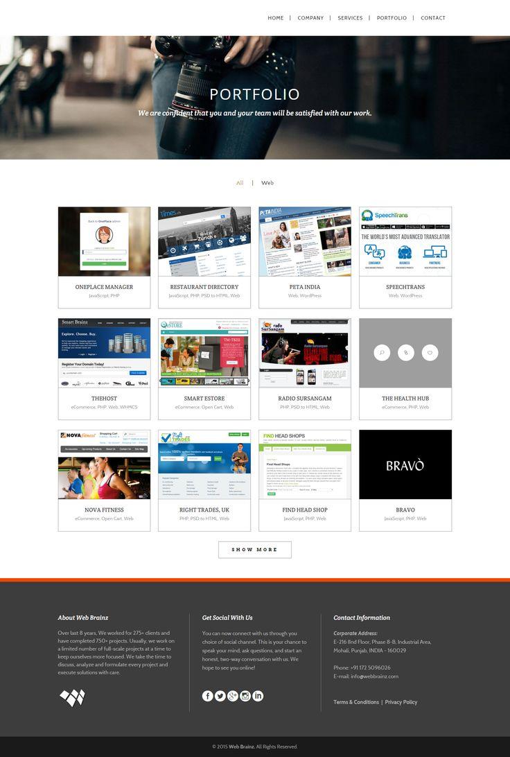 #webbrainz #portfolio  Skype: webbrainz016