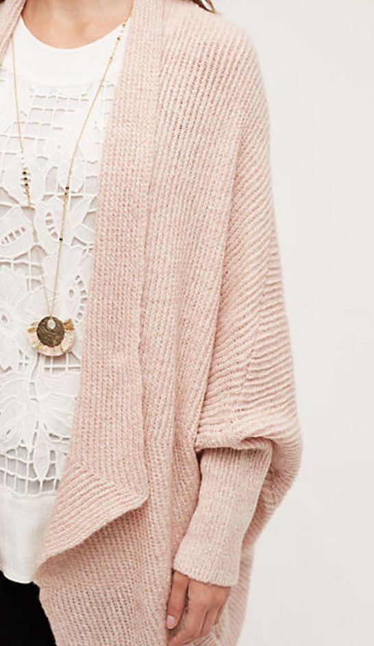 pink cocoon cardigan Loving this cardigan!! Always wanted a cocoon cardigan❤️ the color is perfect