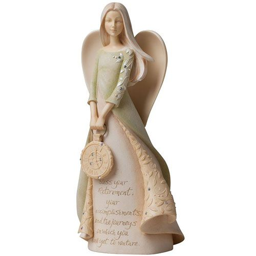 Retirement Angel Figurine | Retirement Gifts For Women, Her, Mom, Sister, Mother, Aunt
