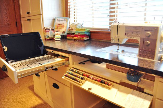 Sewing and craft room ideas