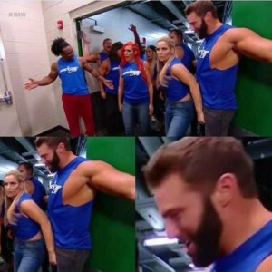 Natalya Reacts to Accidentally Grabbing Zack Ryder's Crotch During Under Siege Segment: You may have seen this picture of Natalya grabbing…