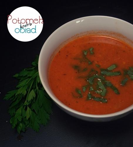 Zupa z soczewicy - Potomek w kuchni czyli nie do końca normalny blog kulinarny