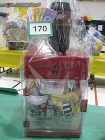Here are some examples of baskets that Eduprize had at their Spring  Carnival last year.  They raised $14,000 on their Silent Auction  baske...