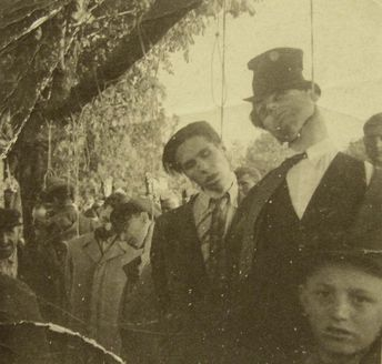 Yugoslavia, Pancevo, Hanging of locals by German soldiers