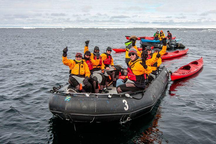 Tu podrías ser parte de esta inolvidable aventura! Antártica - Chile