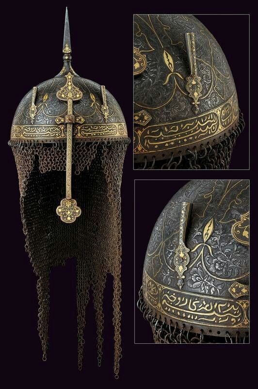 Persian Helmet 1800