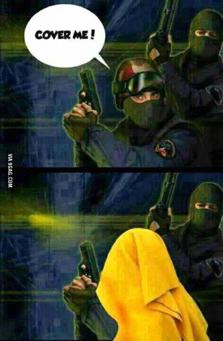 Counter Strike be like!