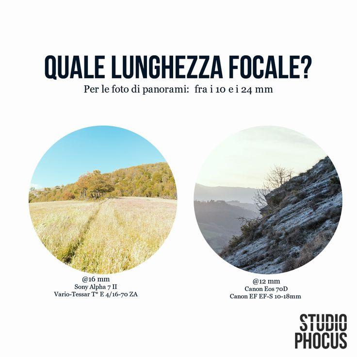 suggerimenti utili per scattare foto panoramiche. #fotografia #tutorial #lenti
