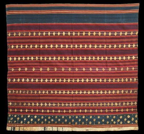 Ceremonial sarong (Tapis). Lampung, Abung people.   Tina Tabone