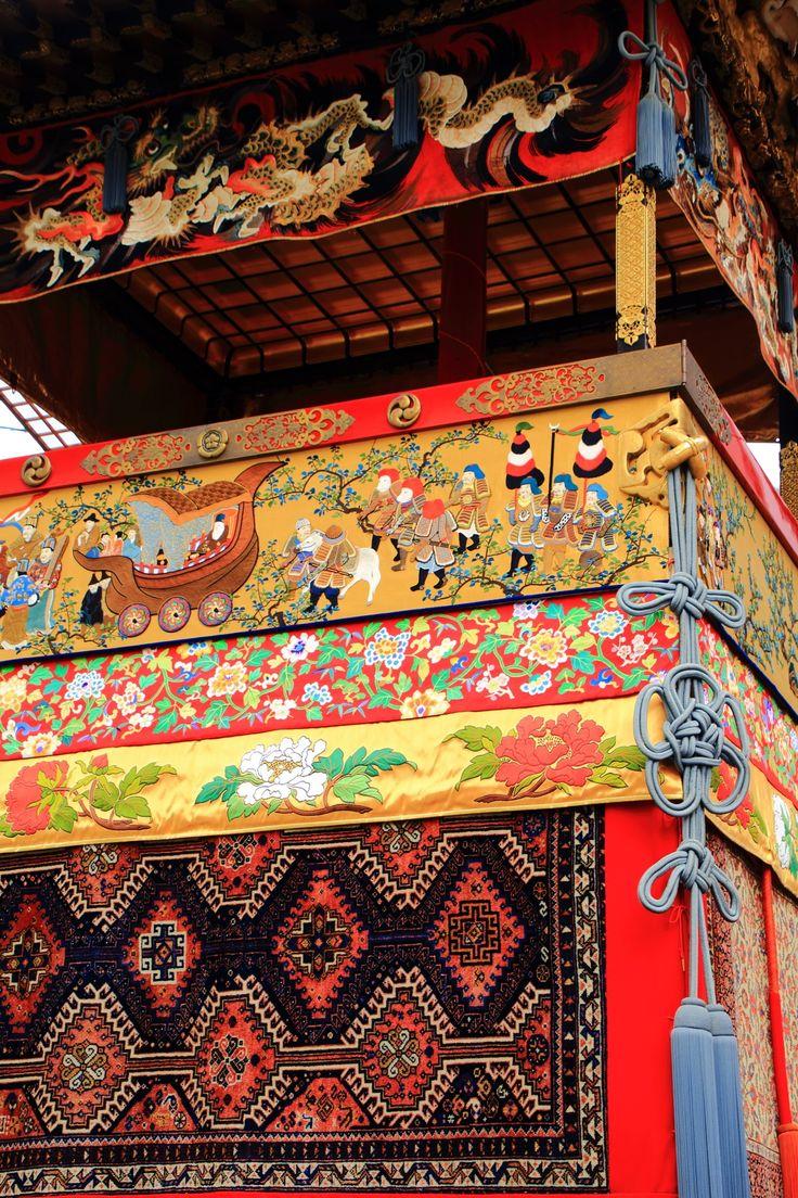 京都三大祭の祇園祭後祭の綺麗な北観音山