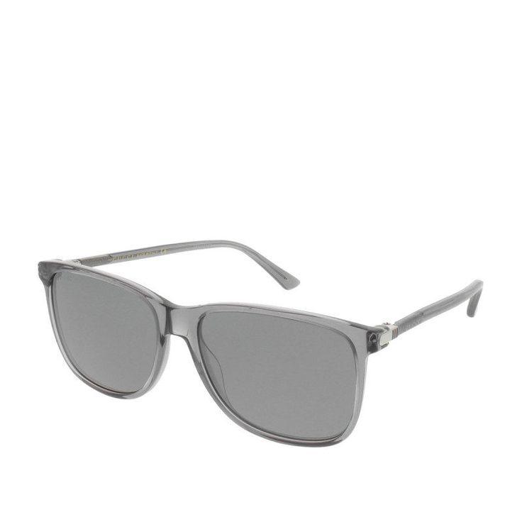 Gucci Gucci Sonnenbrille – Gg 0017S 003 57 – in grau – Sonnenbrille für Damen
