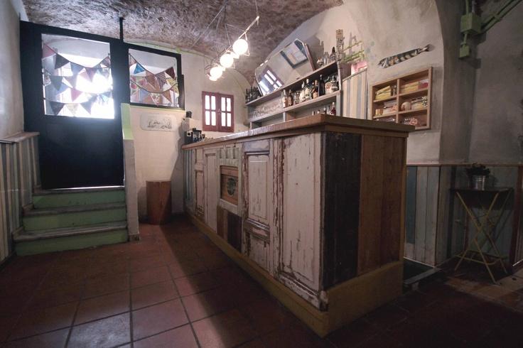 Re-Cycle Caffè, Civitavecchia, Italy.