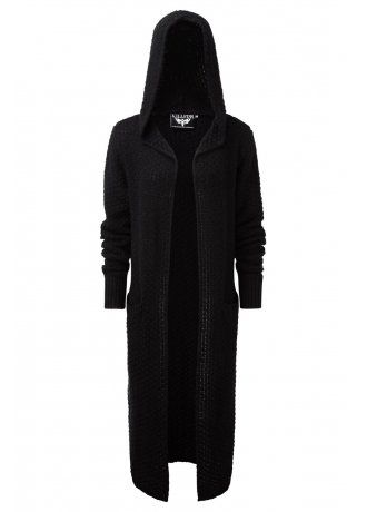 Killstar Baal Knit Cardi | Attitude Clothing