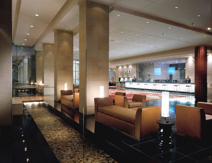 Westin Cape Town Reception Lobby. Interior design by Source Interior Brand Architecture.