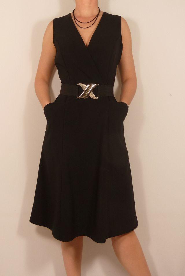 Patron Robe Fuschite // Histoire de coudre - Version Crêpe => SB Créations Couture [Patron de couture robe / Dress Sewing Pattern]