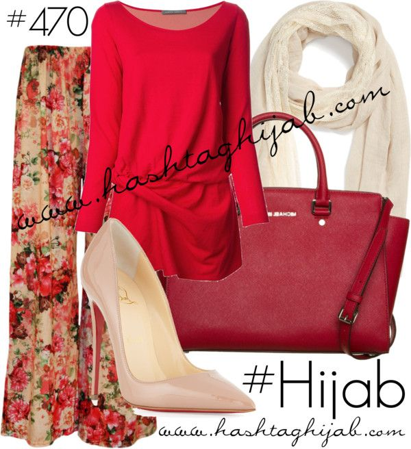 Hashtag Hijab Outfit #470 par hashtaghijab utilisant escarpins rougesAlberta Ferretti hauts à manches longue€470 - farfetch.comPantalon bohémien€13 - wearall.comChristian Louboutin escarpins rouge€510 - neimanmarcus.comMICHAEL Michael Kors leather bag€395 - zalando.co.ukRemi Reid lacy shawl€29 - nordstrom.com
