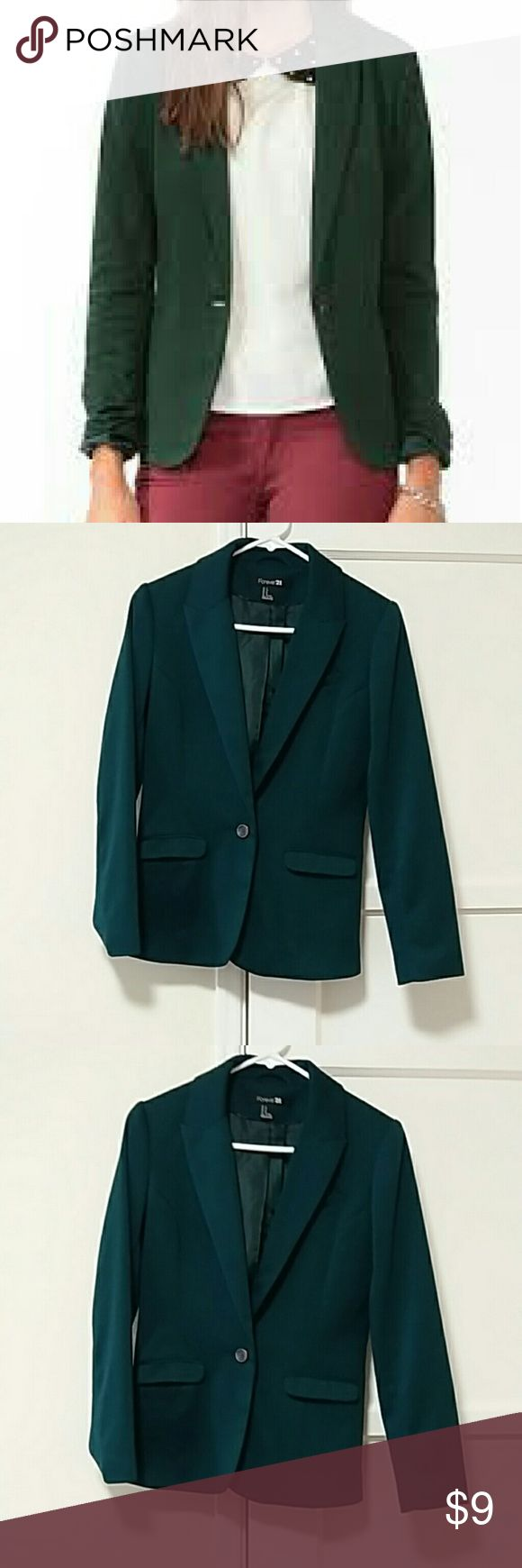 Forever 21 Women suit jacket good condition Forever 21 Jackets & Coats