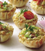 ... cherry tomato and crab bites recipes dishmaps cherry tomato and crab