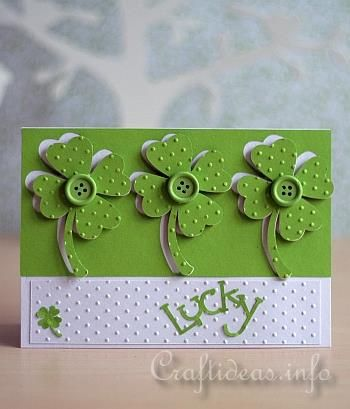Lucky St. Patrick's Day Greeting Card