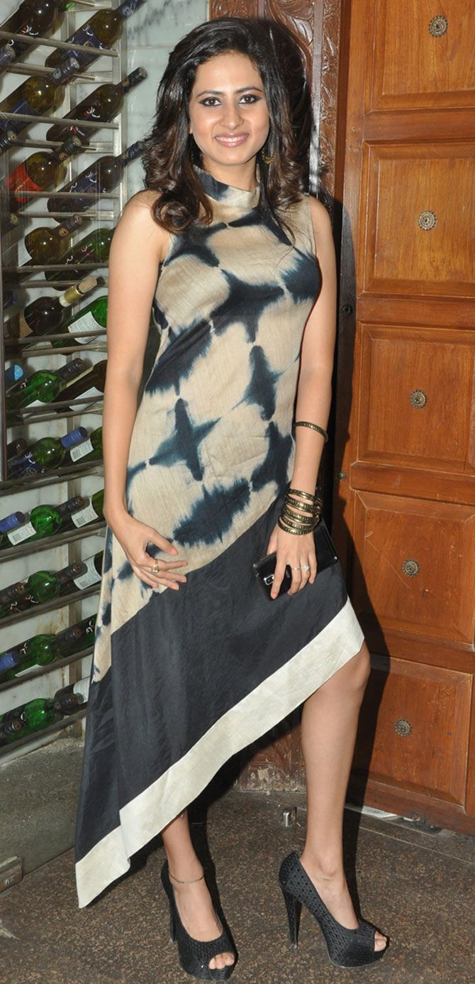 Sargun Mehta at her birthday bash. #Bollywood #Fashion #Style #Beauty #Hot
