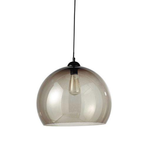 Grijze plexiglas CYBER SMOKED hanglamp D 41 cm