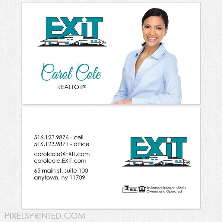 80 best exit business cards and stationery images on pinterest exit business cards business cards exit cards realtor business cards realty business colourmoves Image collections