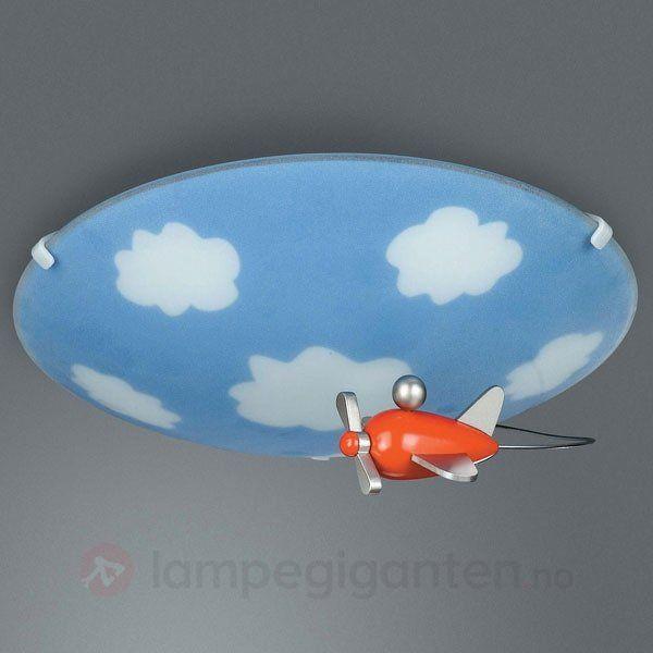 Bestill sky tak  og vegglampe til barnerommet trygt og enkelt ...