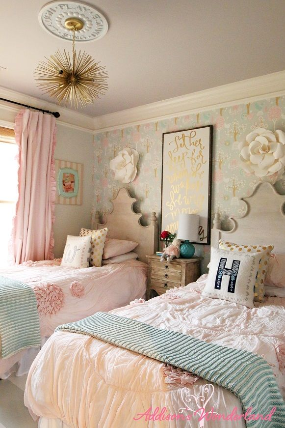 Giving You The Grand Reveal Tour Of Winnieu0027s Little Girl Room Design!