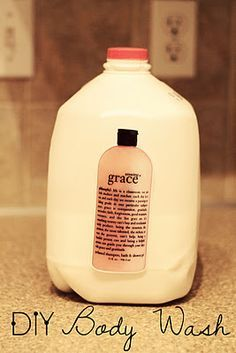 Amazing Grace is my favorite body wash but it costs ALOT! Now I know how to save money and still smell great! YES!
